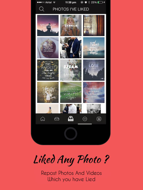 IG Repost & Grid Post for Instagram Screenshots