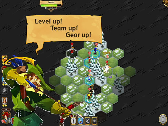 Crowntakers - The Ultimate Strategy RPG Screenshots