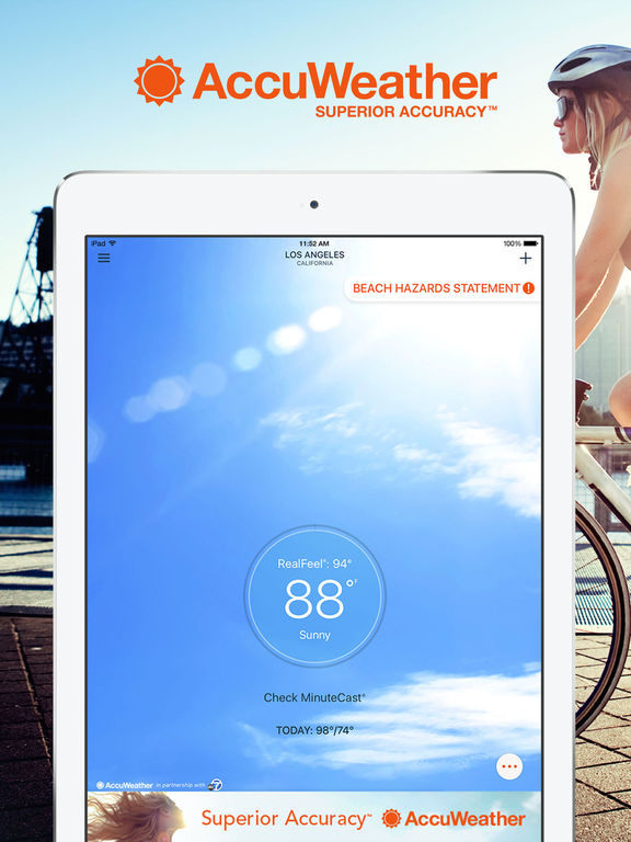 AccuWeather - Weather for Life Screenshots