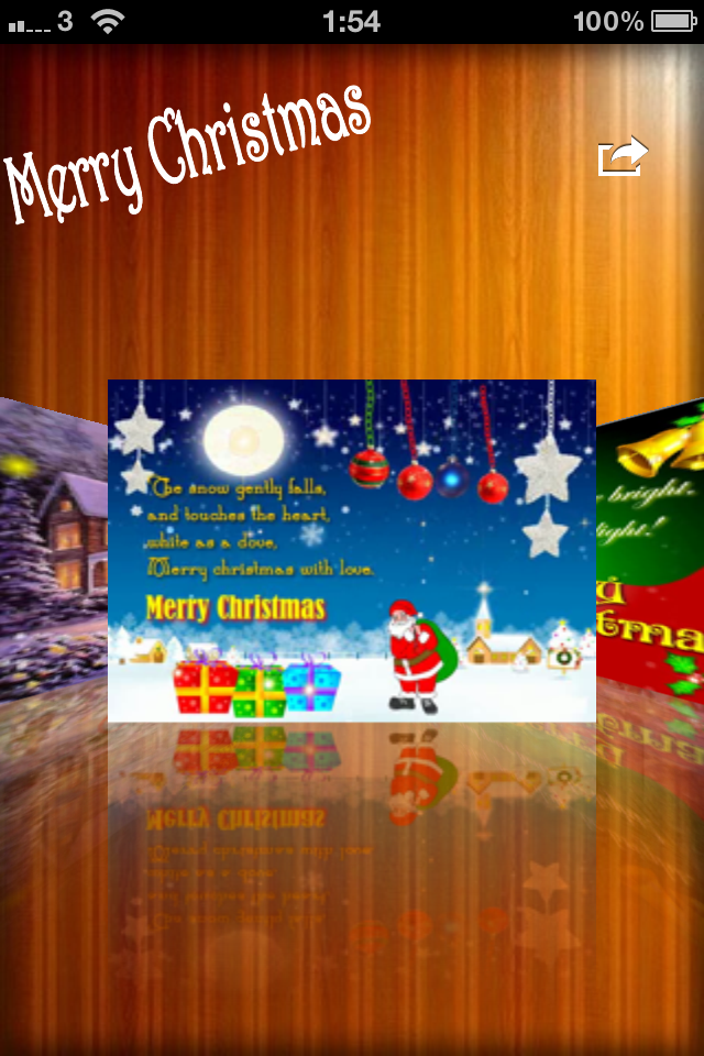 Christmas Video (Animated) Greeting Cards   iPhone Lifestyle apps ...