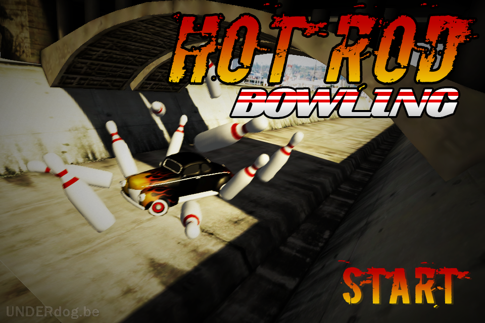 Hot Rod Bowling free app screenshot 1