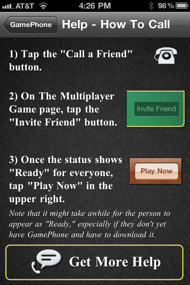 GamePhone - Free voice calls and text chat for Game Center