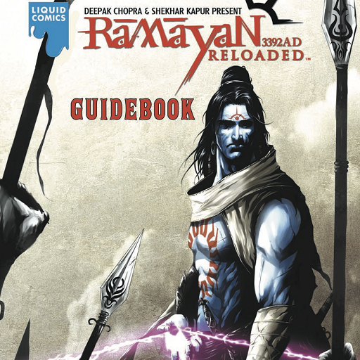LIQUID COMICS: RAMAYAN 3392AD – GUIDE BOOK