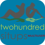 Two Hundred Situps Multi User icon