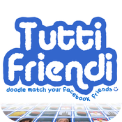 Tutti Friendi: Doodle match your Facebook friends :) icon