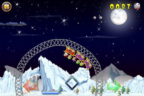 Santa's Rollercoaster Rush FREE