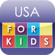 USA for Kids for iPad icon