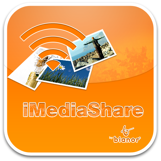 free iMediaShare iphone app