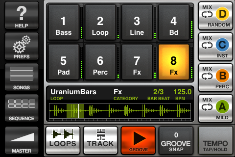 GrooveMaker FREE free app screenshot 1