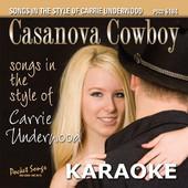 Karaoke (In the Style of Carrie Underwood) [Her Latest Hits] (PSCD 6184), Pocket Songs Karaoke