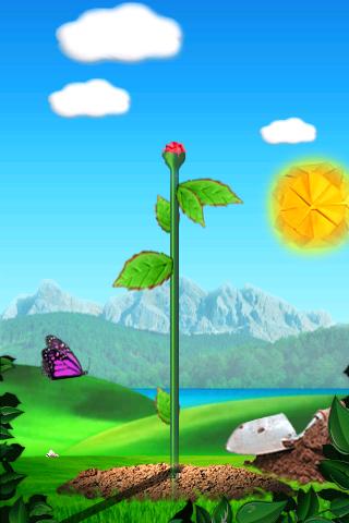Origami Rose free app screenshot 1