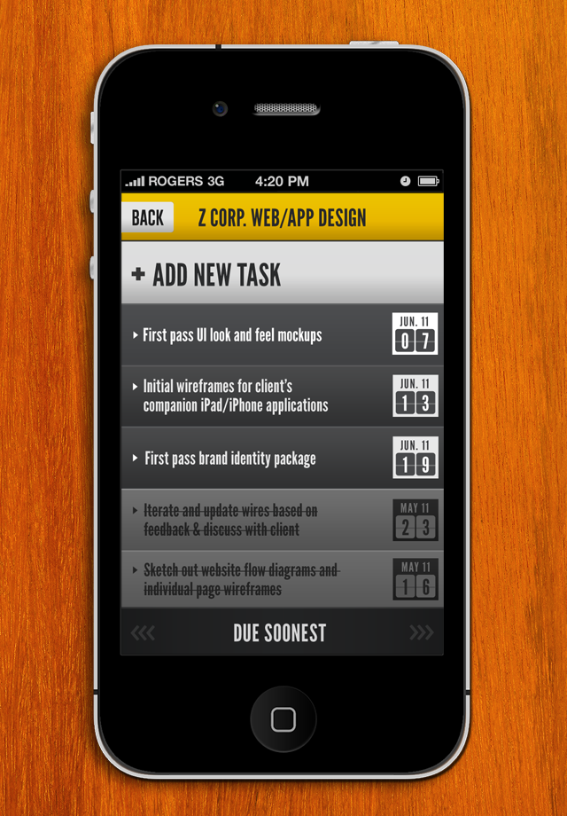 HQ:To Do & Task Lists Screenshot