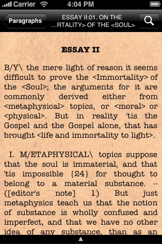 Essays on Suicide and the Immortality of the Soul screenshot 4