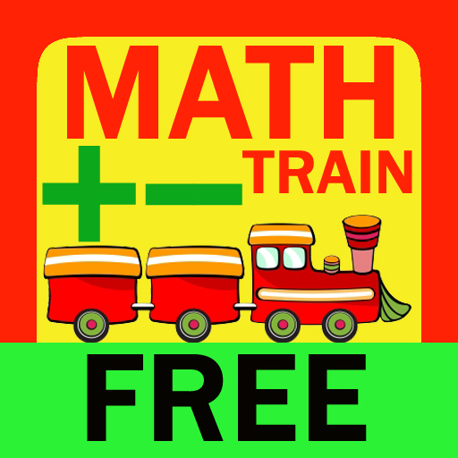free Math Train Free - Addition Subtraction for kids iphone app