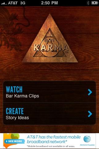 Current TVs Bar Karma free app screenshot 1