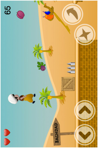 Sinbad The Sailor iPhone Screenshot 3