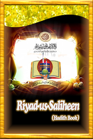 Riyad-us-Saliheen Commentary by using Quran verses on Sahih Bukhari and Sahih Muslim Hadith Books islam iPhone Screenshot 1