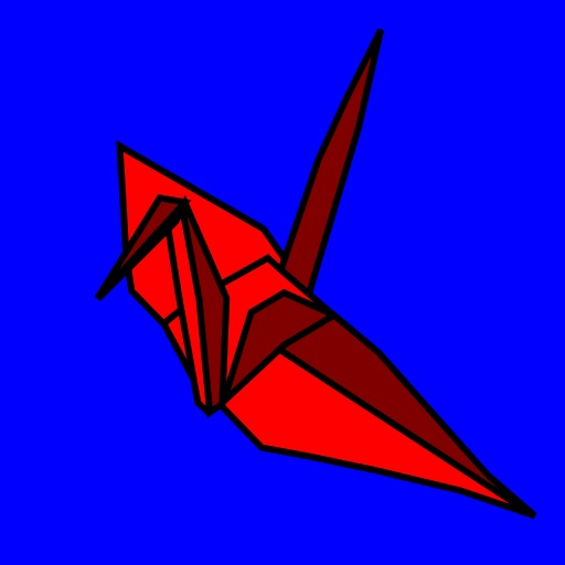 free Origami - Crane iphone app