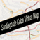 Santiago de Cuba, Cuba Virtual Map for iPhone