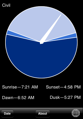 Daylight free app screenshot 1