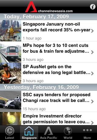 Ch NewsAsia free app screenshot 1