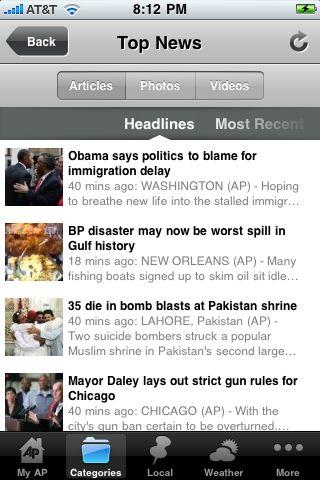 AP Mobile free app screenshot 1