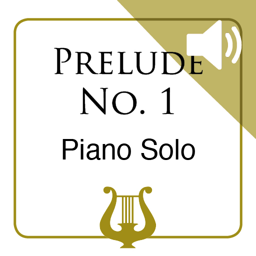 Prelude No. 1 by J.S. Bach - Piano Solo MP3 included (iPad Edition)