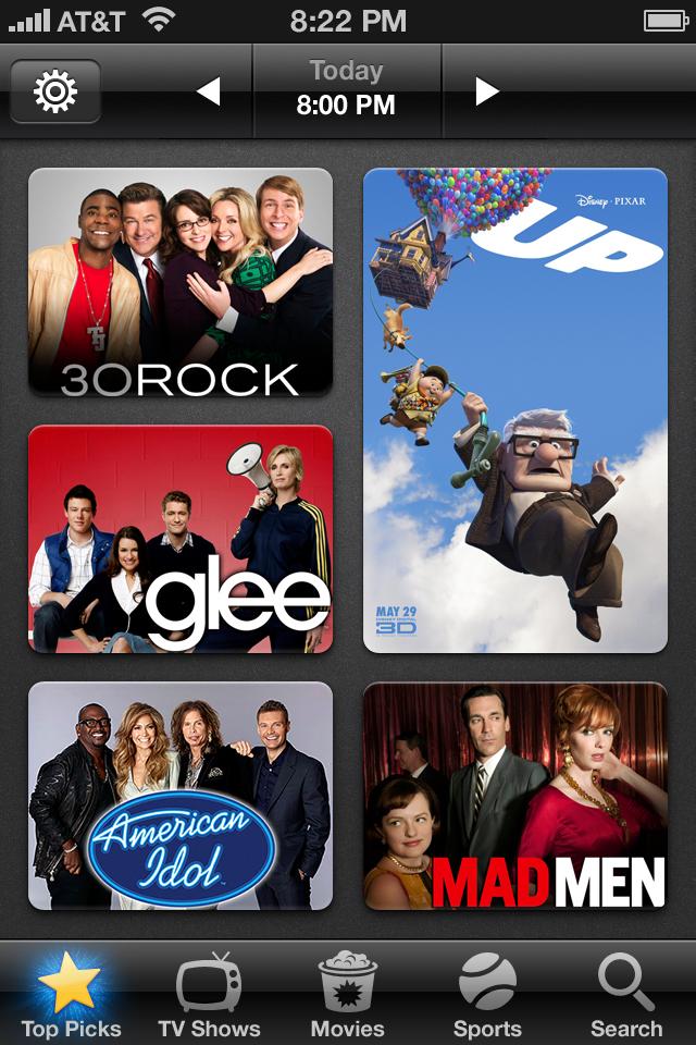 Peel - Personal TV Show Guide free app screenshot 1