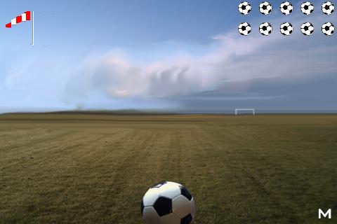 Soccer Shot free app screenshot 1