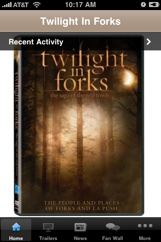 Twilight In Forks free app screenshot 1