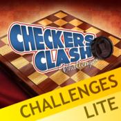 Checkers Clash Challenges Lite 跳棋挑战
