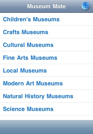 Museum Mate free app screenshot 1