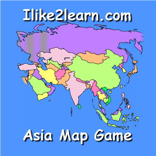 Map Games Of Asia