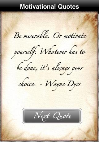 Quotes (Motivational) free app screenshot 1
