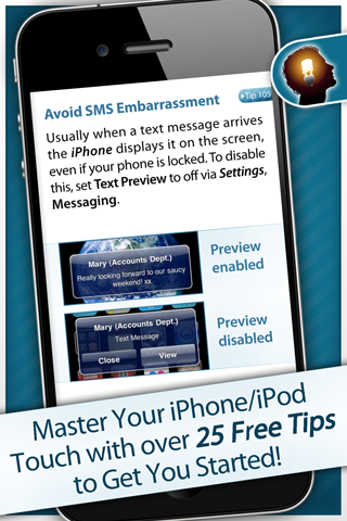 Tips & Tricks – iPhone Secrets Lite Screenshot