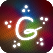 Glow Draw Christmas icon