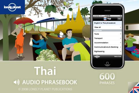 Lonely Planet Thai Phrasebook