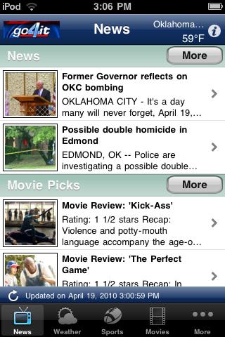 go4it free app screenshot 1