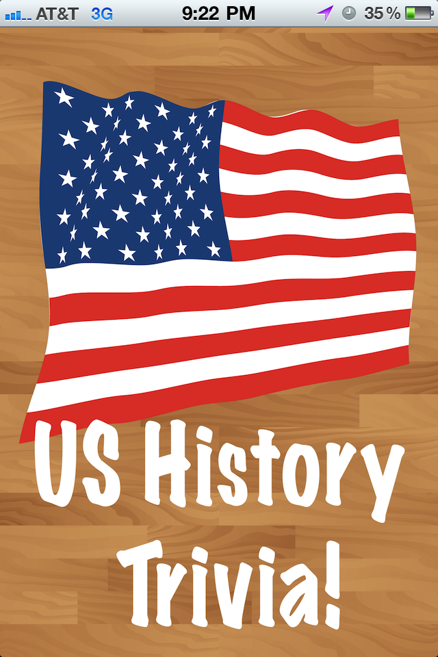 A us history quiz app for free iphone ipad ipod touch for American history trivia facts