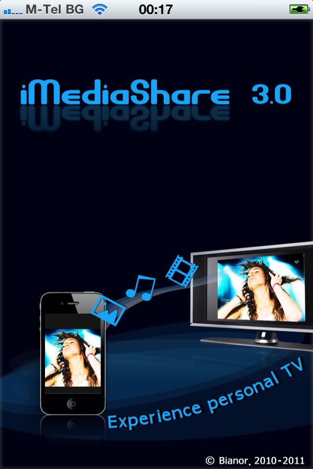 iMediaShare free app screenshot 1