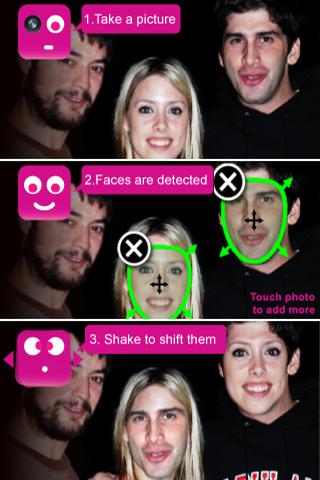 FaceShift Lite free app screenshot 1