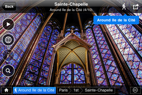 Fotopedia Paris Screenshot