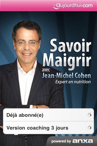 Copie d'écran 1 de l'application
