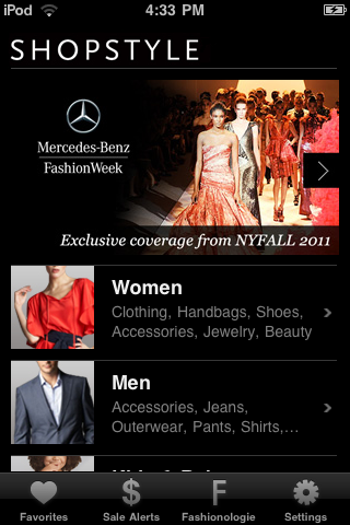 ShopStyle free app screenshot 1