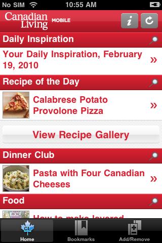 Canadian Living free app screenshot 1