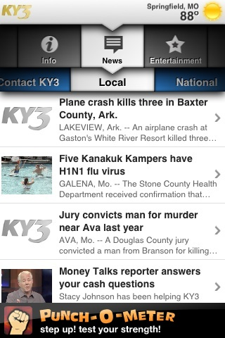 KY3 Mobile Local News free app screenshot 1