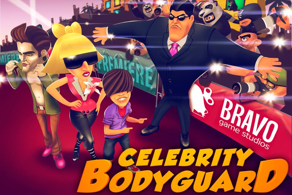 Celebrity Bodyguard | Games | Pocket Gamer