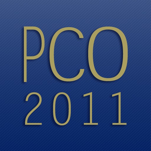 PCO Conference 2011 Mobile App by CrowdCompass
