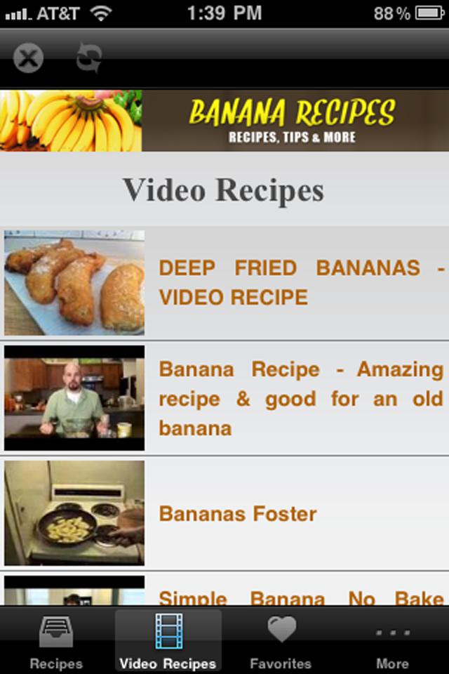 Banana Recipes!
