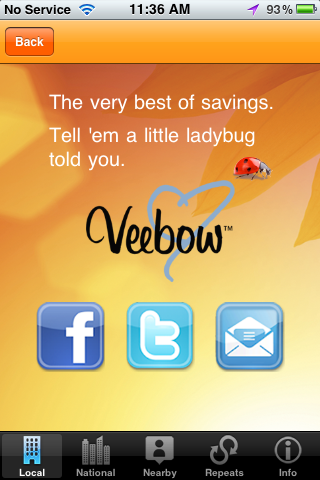 Veebow Screenshot